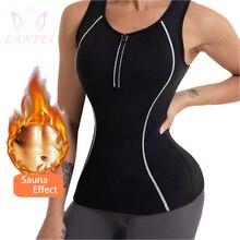 Women Corset Waist-Trainer LANFEI Shirts Vest Underwear Weight-Loss-Top Body-Shaper Sweat Slimming