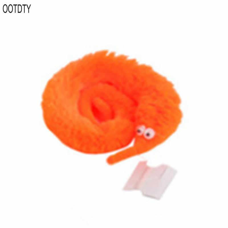 100 יח'\חבילה בפלאש Mr. פאזי קסם לכשכש תולעת Twisty תולעת ממולא בעלי חיים ילדים צעצוע