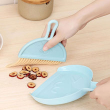 Dustpans-Set Desktop-Sweeper Small Broom Table Cleaning-Tools Household Mini