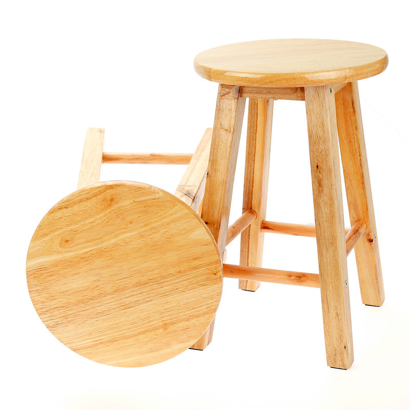 Solid Wood Stools Bench Wooden Bench Computer Stool Home Dining Chair Stool Fashion Creative Low Stools