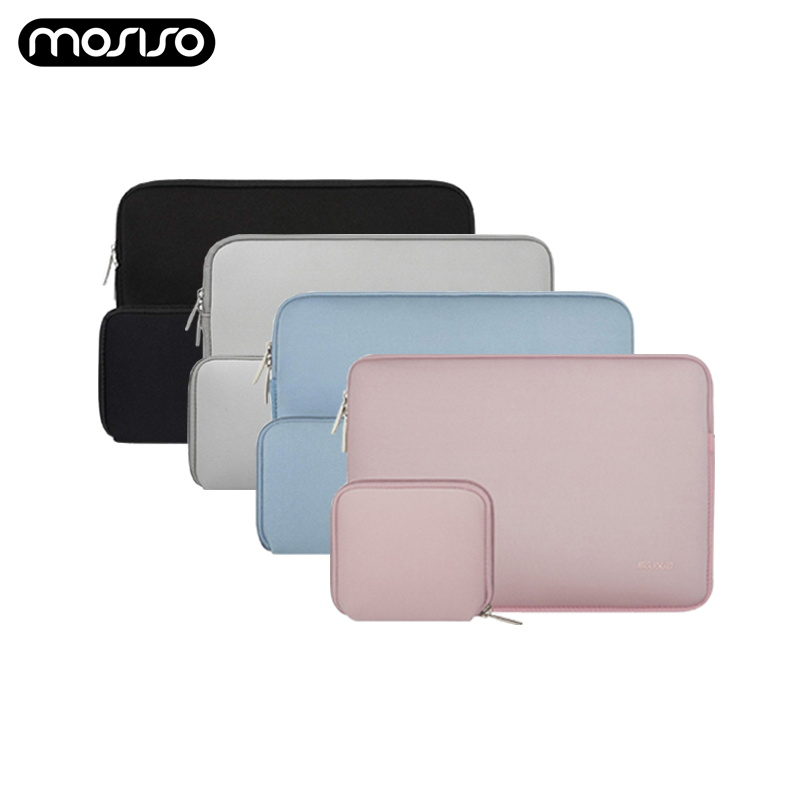 MOSISO Laptop Bag Case Notebook Sleeve 11.6 12 13.3 14 <font><b>15</b></font>.6 inch For Xiaomi Macbook Air Pro Dell <font><b>Asus</b></font> HP Acer Laptop Case Women image