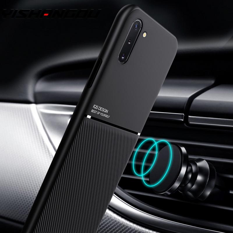 For Xiaomi Mi Note 10 Pro 9 SE 9T Pro A3 Lite Case Built-in Metal Plate Car Holder Case For Xiaomi Redmi Note 8T 8 Pro 7 5 8A 7A