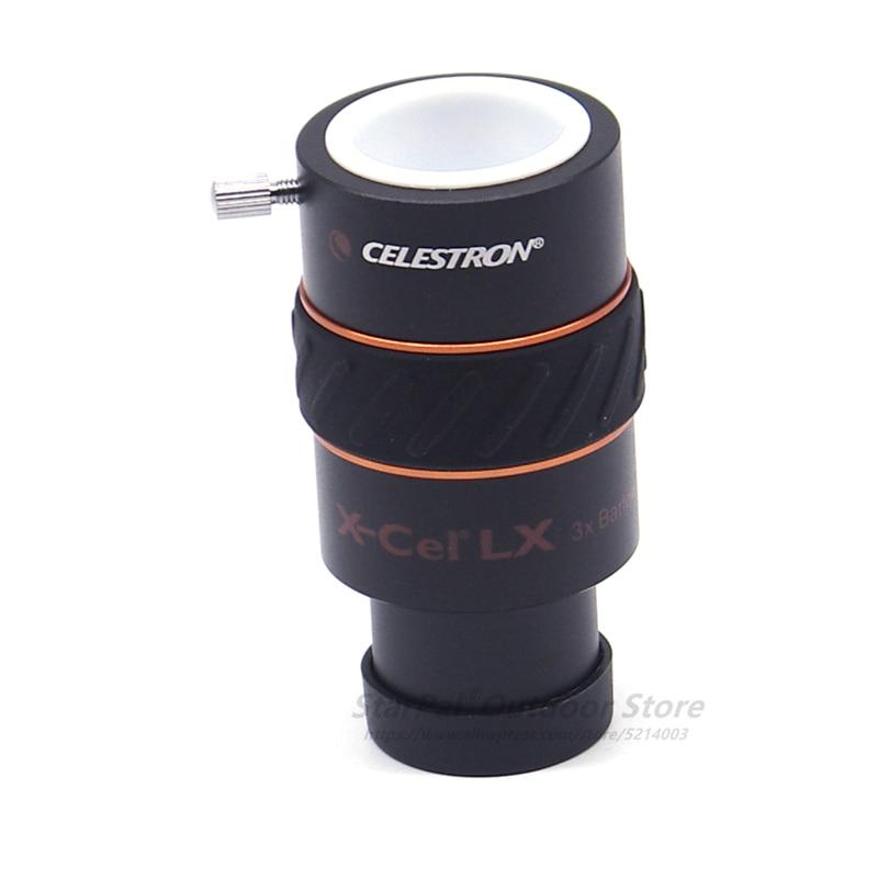CELESTRON X-CEL 2X-LX окуляр barlow 3X barlow Стандартный 1,25 дюймовый телескоп окуляр аксессуары цена одного