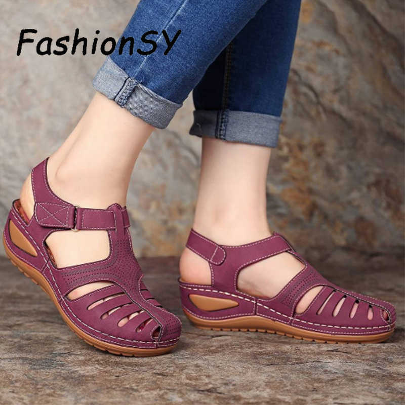 Sandals Buckle Casual Women Shoes Platform Shoes Plus size for Cezar Benitez