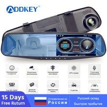 ADDKEY радар детектор зеркало 3 в 1 Dash Cam DVR рекордер с антирадаром gps трекер определение скорости для России камера заднего вида