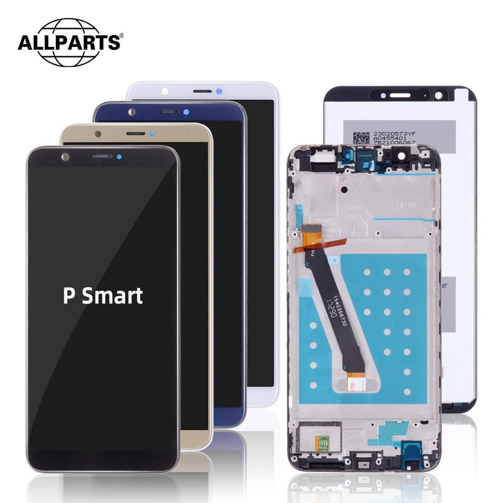 Orijinal ekran için Huawei P akıllı dokunmatik LCD ekran ekran için çerçeve ile Huawei P akıllı LCD ekran Fig-lx3 LX1 L21 L22 LCD