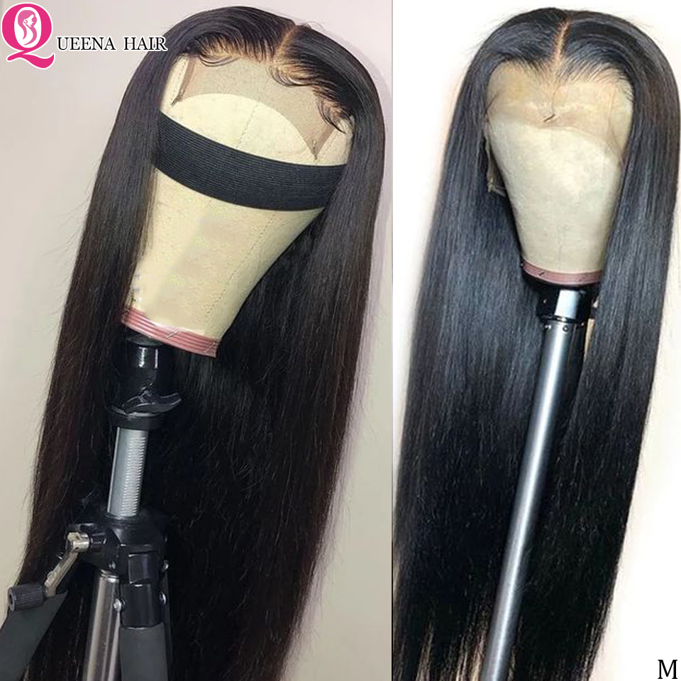 13x6 13x4 Transparent Lace Front Human Hair Wigs Remy Brazilian Straight Lace Frontal Wig Pre Plucked And Bleached Knots 150%