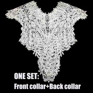 Image 5 - Broderie florale, col avant + col arrière, 7 couleurs, appliques artisanales, paillettes, accessoires de décoration Costume à faire soi même