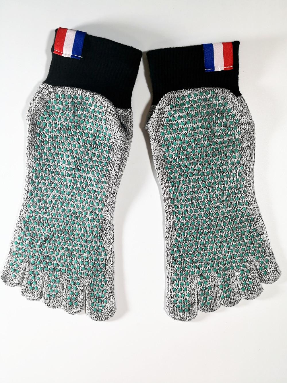 HPPE Short Beach Socks Diving Socks Non-slip Dive Snorkeling Swimming Yoga 5 Toe Cut Resistant Socks High Quality
