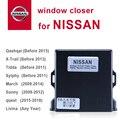 Оригинальный Автомобильный Автоматический стеклоподъемник Для Nissan Sunny Qashqai X-TRAIL TEANA Tiida SYLPHY Murano Quest