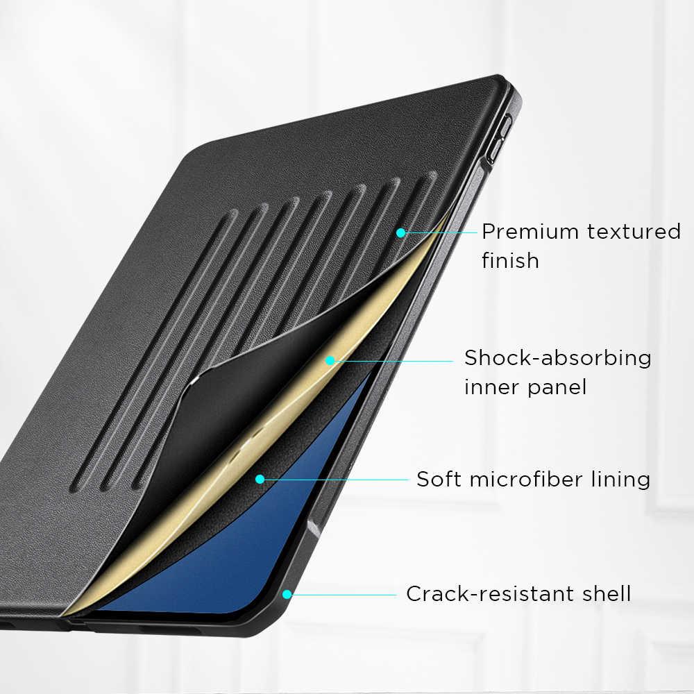 ESR für iPad Pro 11 12,9 2020 Fall mit Stift Halter 9 Positionen Stehen Zurück Abdeckung Stabile Robust Fall für iPad Pro 12,9 zoll Fällen