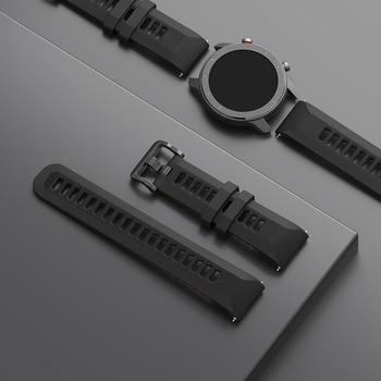 Original Watch Strap 22mm(Width) 20mm Silica Bracelet for Xiaomi Huami Amazfit GTR Pace Stratos GTS Bip Lite Smart Watch