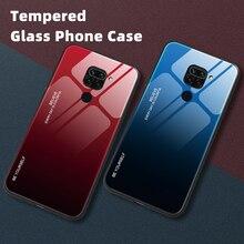 Gradient Glass Phone Case For Redmi Note 9 Case Luxury Cover For Xiaomi Redmi Note 8 Pro Case For Xiomi Redmi Note 7 Cover Coque