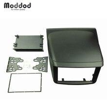Mitsubishi Pajero Sport Triton L200 라디오 DVD 스테레오 패널 대시 설치 설치 트림 키트 Face Frame Fascia with box