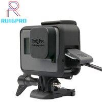 Для GoPro аксессуары GoPro Hero 7 6 5 защитная рамка чехол Корпус для видеокамеры чехол для GoPro Hero5 6 черная Экшн-камера