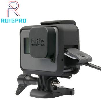 For GoPro Accessories GoPro Hero 8 7 6 5 Protective Frame Case Camcorder Housing Case For GoPro Hero5 6 Black Action Camera аквабокс gopro aadiv 001 для hero5 6 black 60м