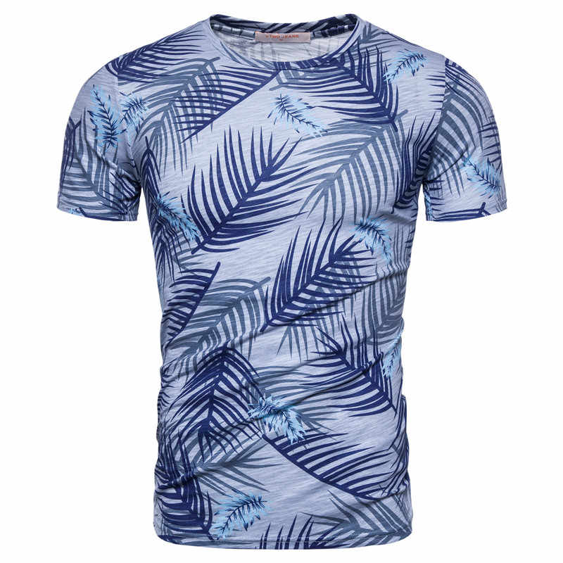 2020 novo verão 100% algodão imprimir camiseta masculina casual moda estilo hawaii camisetas de alta qualidade camisetas