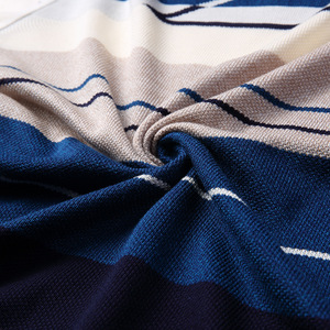 Image 4 - 2020 브랜드 남성 풀오버 스웨터 남성 니트 저지 스트라이프 스웨터 남성 니트 의류 Sueter Hombre Camisa Masculina 100