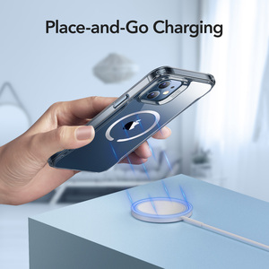 Image 2 - ESR Magnetic Case for iPhone 12/12 Pro Max Sidekick Hybrid Case with HaloLock Magnetic Wireless Charging Case for iPhone 12 Pro