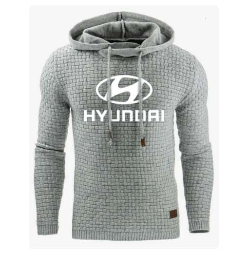Hoodies Men Hyundai Car Logo Print Sweatshirt Spring Autumn Men Hoodies Sportswear hip hop harajuku Casual Hoody tracksuit