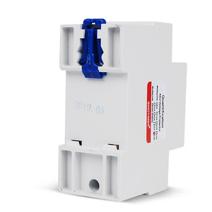 Image 2 - 63A 220V Din Rail Adjustable Voltage Protector Relay Current Limit Protection with Wattmeter kWh Energy Meter Power Consumption