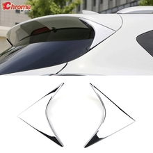 Dành Cho Xe Mazda CX 5 CX5 Kế Chrome Phía Sau Cửa Sổ Bên Cánh Xòe Khoét Eo Tam Giác Trụ Cột Bài Bao Viền Miếng Dán Tấm Bảo Vệ 2013 2014 2015 2016