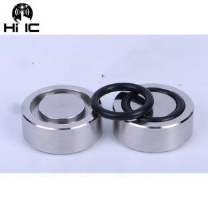 Image 5 - AMPLIFICADOR DE Audio HIFI de acero inoxidable almohadilla de pie antigolpes, almohadillas para los pies, soportes de absorción de vibración, Base de uñas