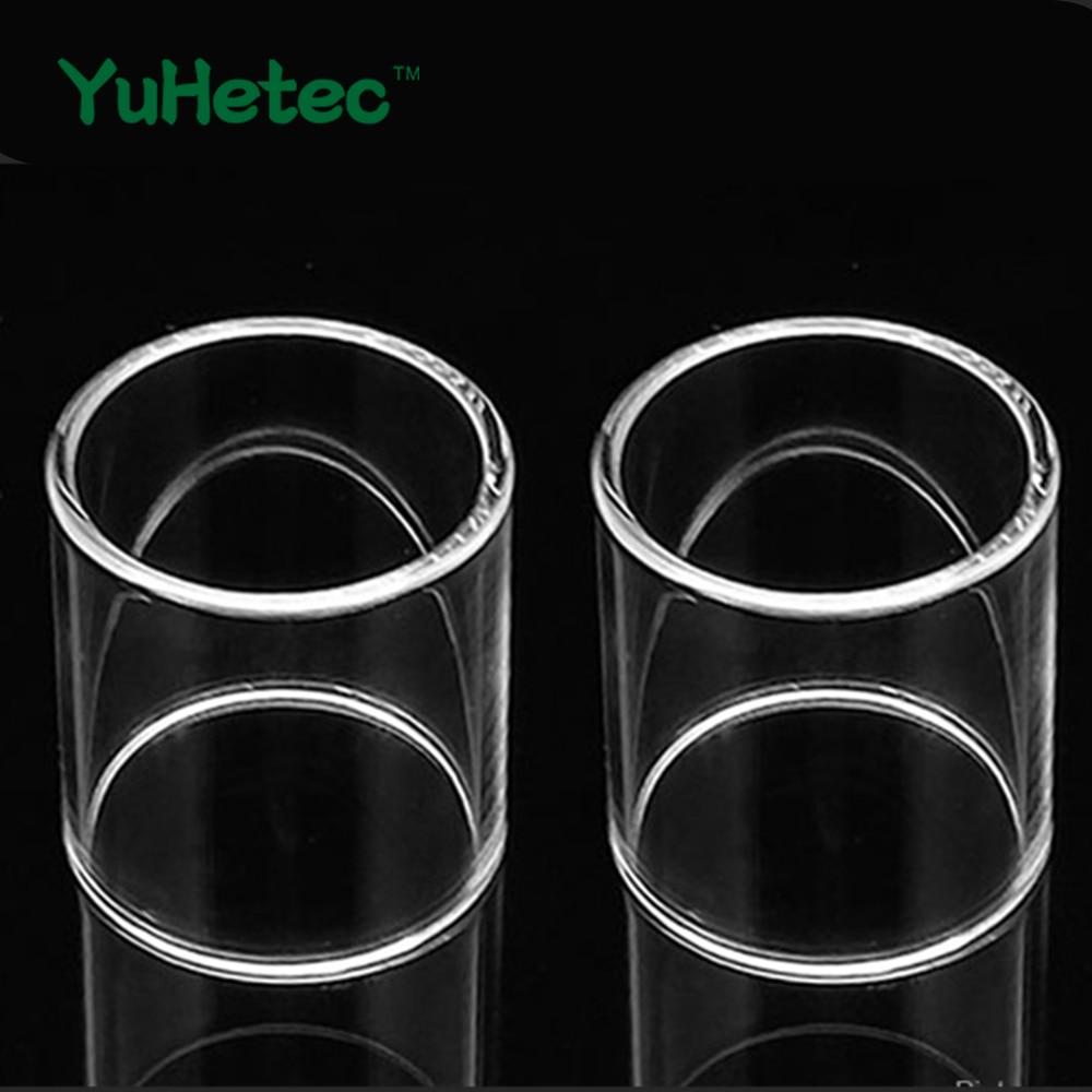 2pcs YUHETEC Replacement Glass Tank For Kanger EVOD PRO V2/Toptank Mini/Subtank Mini/Subtank Mini-c-Transparent