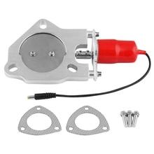 2,5 дюйма 64 мм Электрический пульт дистанционного управления выхлопной системы клапан глушителя E-Cut Out