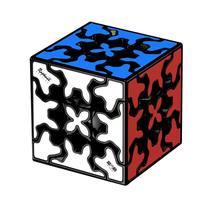 Необычный магический куб особой формы Обучающие игрушки третье