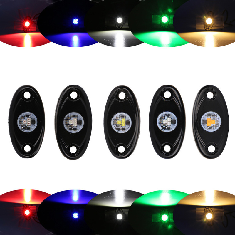 ODIFF Chassis Light 9v14v Off Road Vehicle Motorcycle 9W Atmosphere Light LED Single Color Single Vehicle Bottom Light