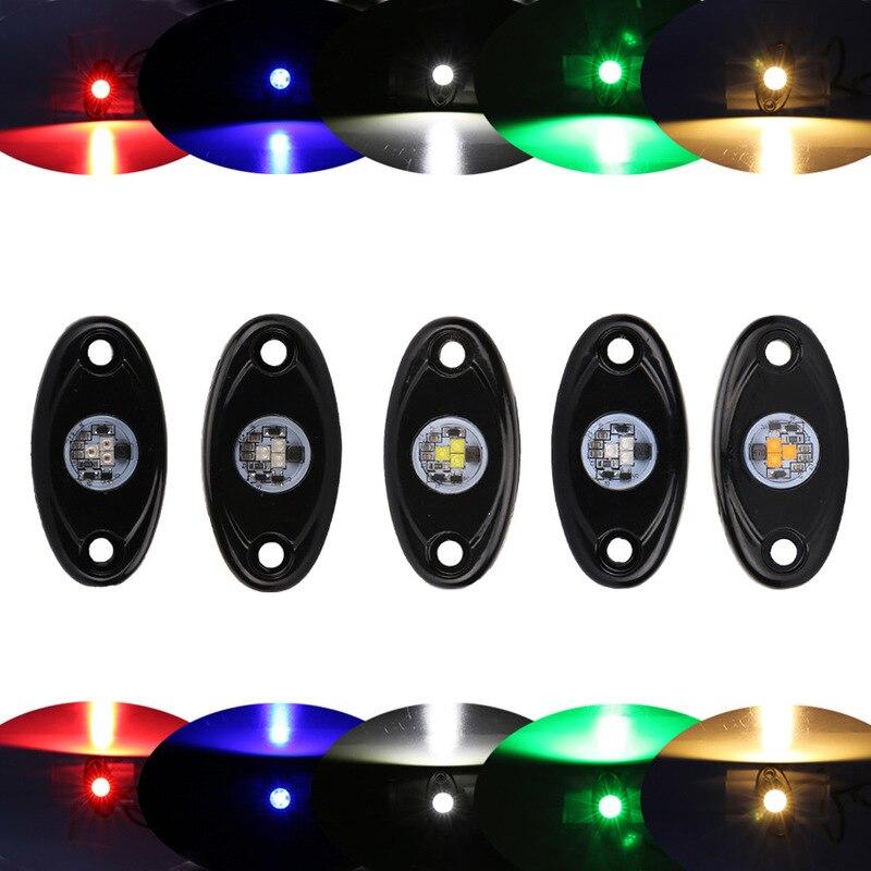 ODIFF Chassis Light 9v14v Off Road Vehicle Motorcycle 9W Atmosphere Light LED Single Color Single Vehicle Bottom Light