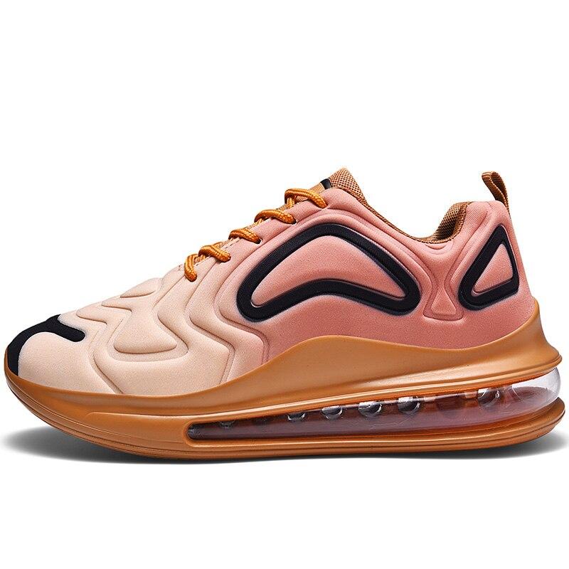 Hommes femmes chaussures de course chaussures de Sport en plein Air marche à lacets chaussures durables Jogging baskets Designer Air Sole confort baskets