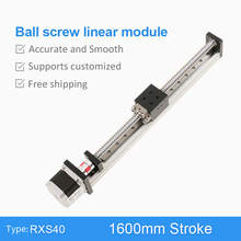 1600 mm Ball Screw 1610 Linear Motion Stage Guide Rail Motorized Actuator Robotic Arm Kit