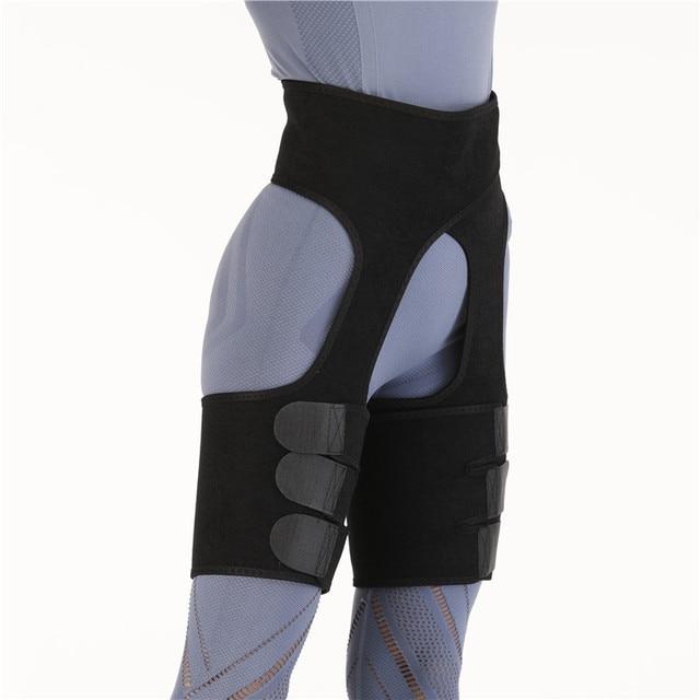 Waist Support Neoprene Slim Thigh Trimmer Leg Shapers Slimming Belt Waist Trainer Sweat Shapewear Fat Burning Compress Belt 1