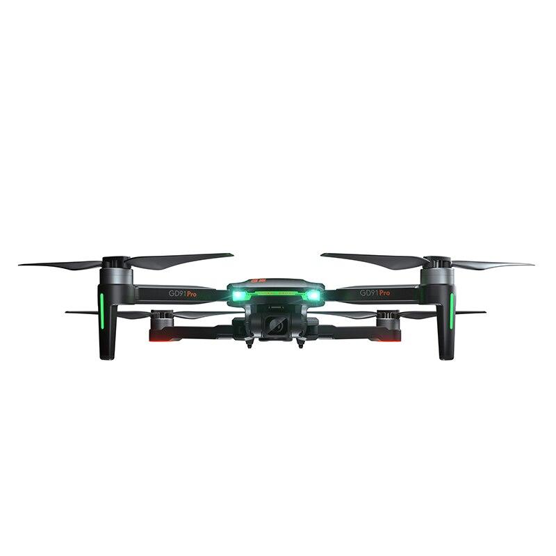 Drone 4K Profesional GPS Quadrocopter with HD Camera 2-Axis Servo Gimbal Anti-Shake Follow Me Dron VS F11 SG906 PRO H117S (4K HD)