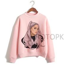 Ariana Grande Sweatshirt clothes 7 Rings women 2019 Hoodies