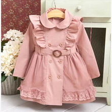 Baby Girls Windbreaker 2019 Spring Jackets For Girls Trench Coats and Raincoats