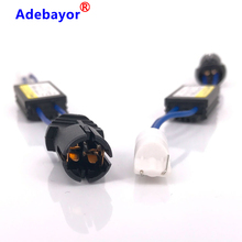 2 pcs/lot 12V LED Warning Canceller Decoder 501 T10 W5W NO Canbus OCB Error Load Resistor