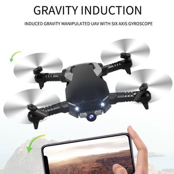 Foldable RC Drone Aerial Photography Remote Control Aircraft Optical Flow Positioning Quad-Axis Aircraft RC Quadcopter