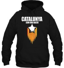 Funny novelty Vintage Retro Independence Catalunya Flag cool Streetwear men women Hoodies Sweatshirts(China)