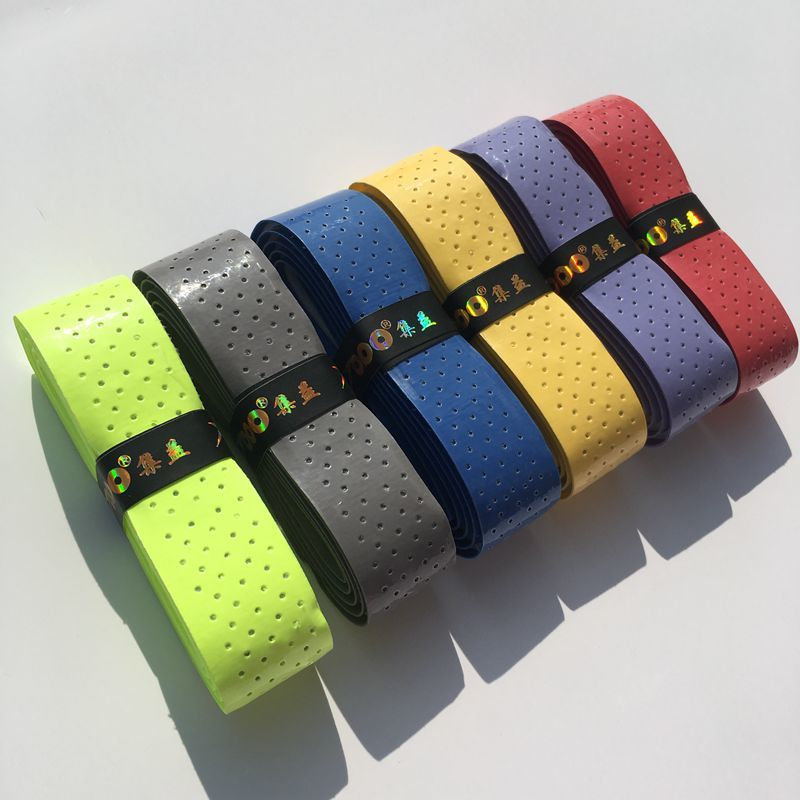 1 Pc TOPO PU-106 Thick Overgrip Sticky Feel Tennis Over Grips Full Glue Badminton Tennis Anti-skid Sweat Absorbed Wraps