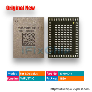 Image 1 - 5 pz/lotto nuovo Originale 339S00043 bluetooth wifi wi fi iC chip per iPhone 6 S/6 s plus U5200_RF WIFI /BT