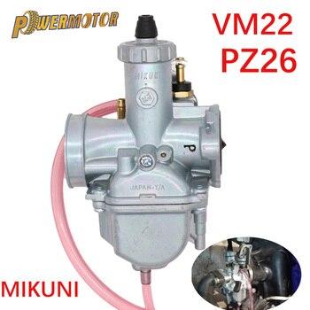 Mikuni VM22 PZ26 26mm Carburetor Performance Carb For 110cc 125cc 140cc Pit Dirt Bike XR50 CRF70 Accessories Parts