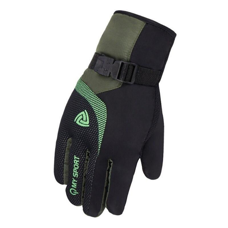 Men Women Winter Gloves Snow Gloves Touch Screen Warm Waterproof Windproof Ski Gloves Fleece Snowboard Motorcycle Riding Gloves