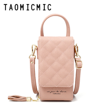 2019 New Fashion Mini Women Shoulder Bags Pu Leather Phone Crossbody Bag Brand Designer Wallet Clutch Female Messenger