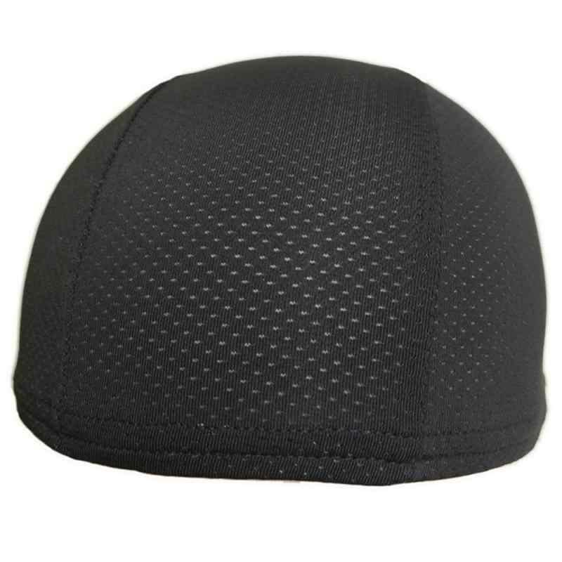 Kask motocyklowy kask Quick Dry oddychający kapelusz kask rowerowy czapka czapka z motywem wyścigów pod kask czapka akcesoria motocyklowe