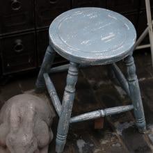 Diseño de Taburete shabby chic rústico vintage madera maceta Soporte Diseño