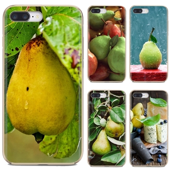 Food Wallpaper Pear Collage Silicone Phone Case For Huawei G7 G8 P7 P8 P9 P10 P20 P30 Lite Mini Pro P Smart 2017 2018 2019