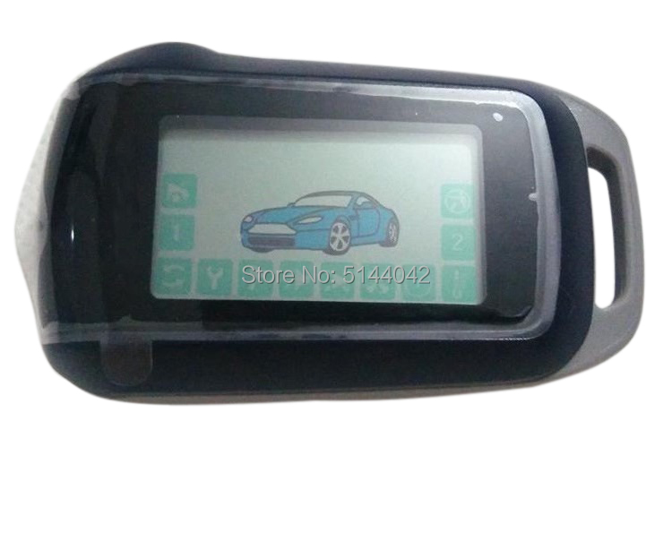 Remote-Control Car-Alarm-System Starline A94 LCD for Russian-Version 2-WAY Keychain Fob